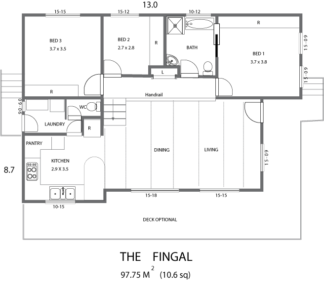 Tas kit homes gallery - German style house plans open design ...